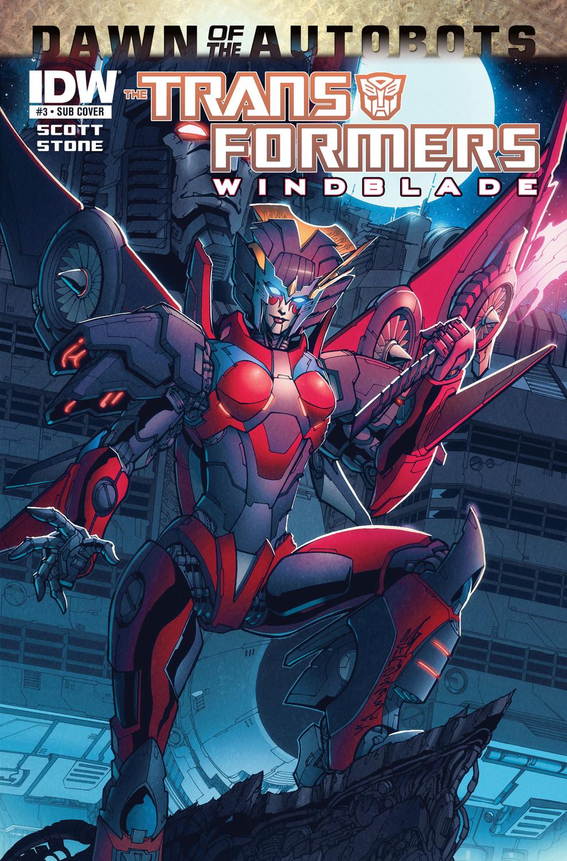 transformers windblade 3 transformers comics tfw2005
