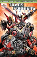 Transformers Prime Rage of the Dinobots Comics