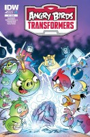 Angry Birds Transformers Comics