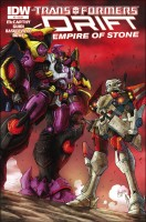 Transformers Drift Empire of Stone Comics