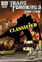 Transformers Rising Storm Comics