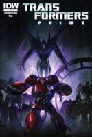 Transformers Prime Comics
