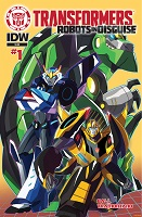 IDW Robots in Disguise Comics