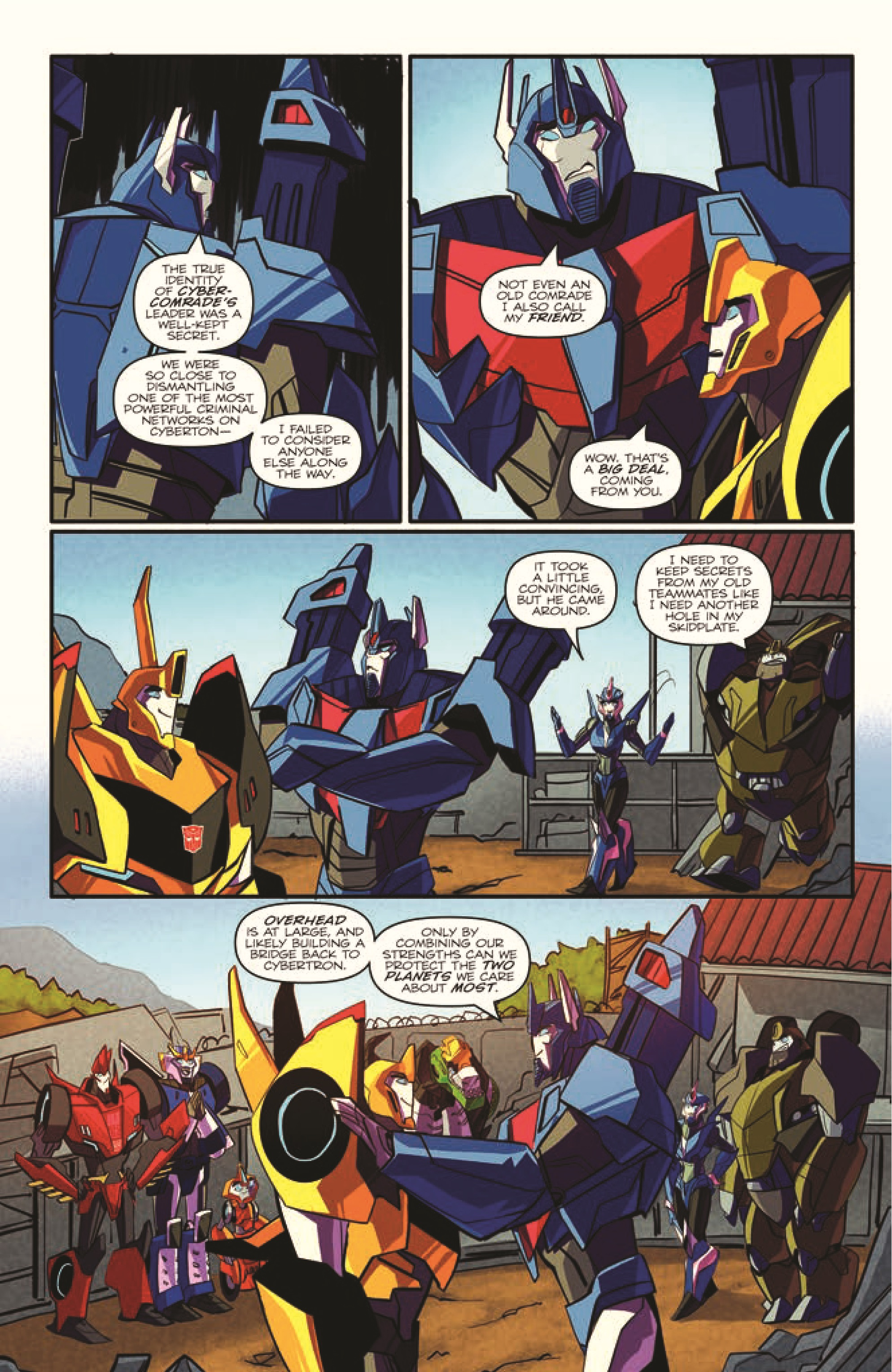 Transformers Robots In Disguise 4 Transformers Comics