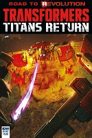Transformers Titans Return Comics