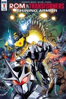 Rom Vs. Transformers Shining Armor Comics